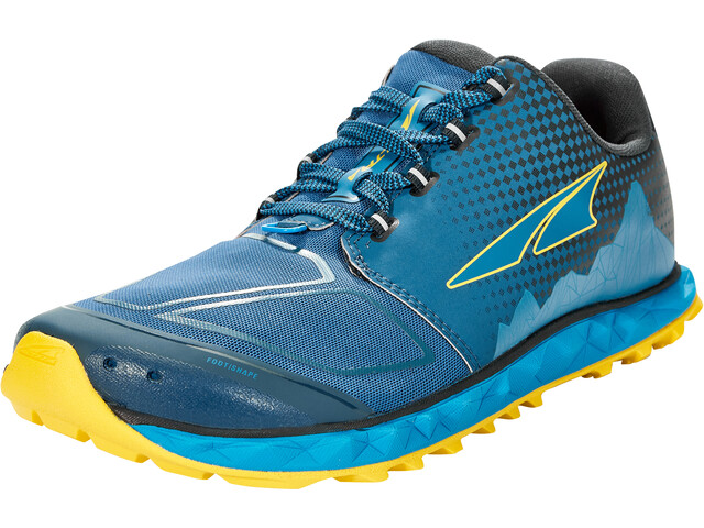 Altra Superior 4.5 Running Shoes Men, blue/yellow